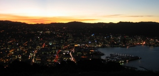 Wellington Skyline ©2005 Jon Moss